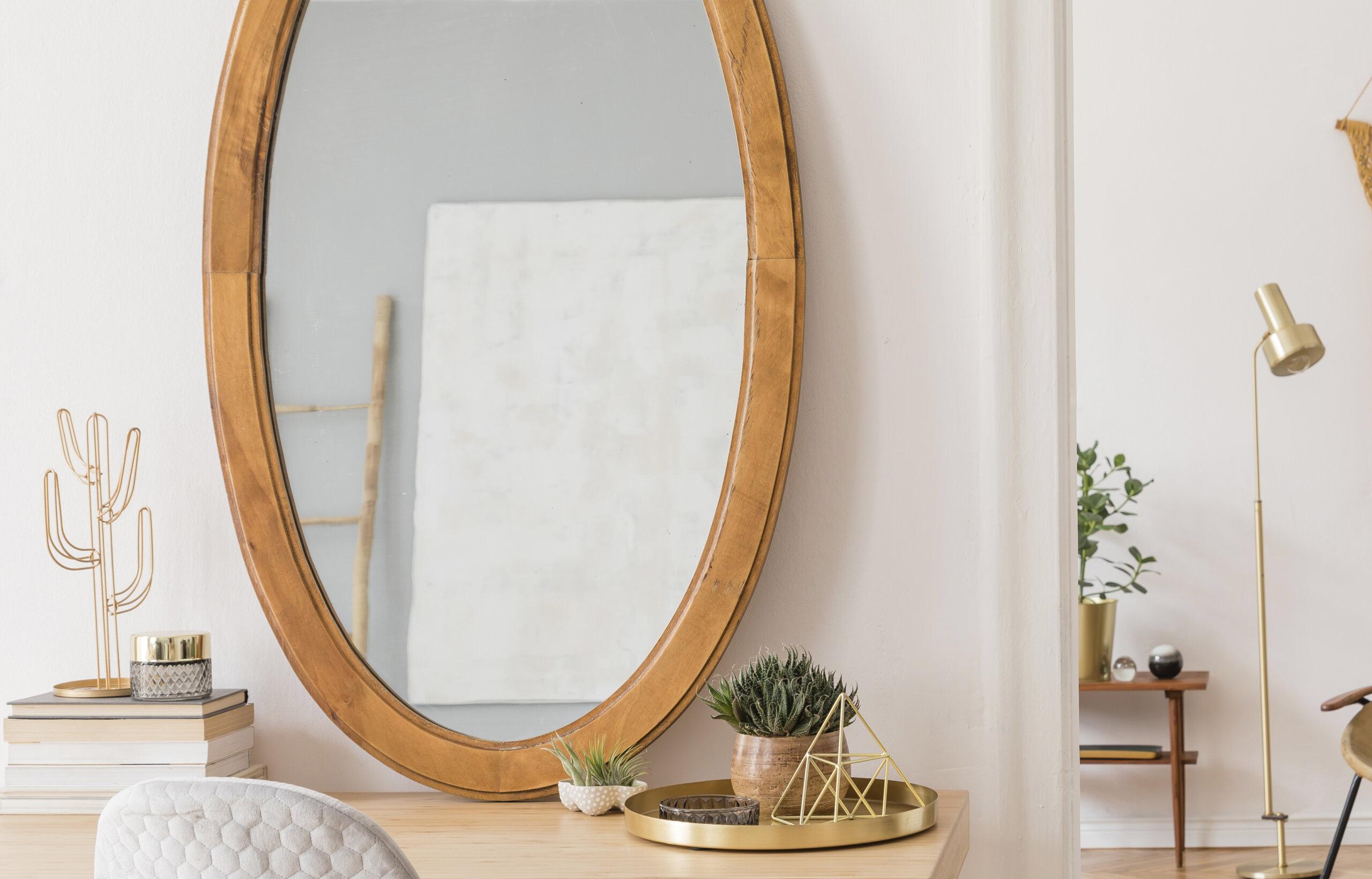 Espelho da penteadeira